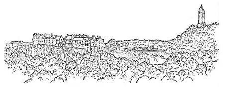 Drawing of Stirling Castle