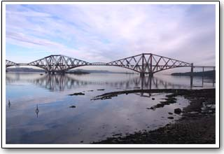 Forth Rail Bridge in South Queensferry